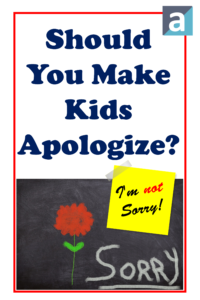 Should You Make Kids Apologize?