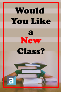 Would you like a new class