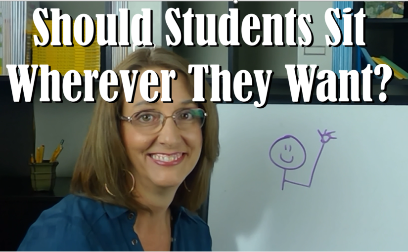 Should Students Sit Where They Want?