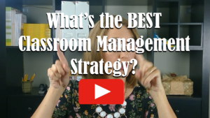 What's the BEST Classroom Management Strategy. Watch on Awesome Teacher Nation TV on YouTube