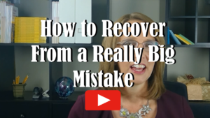 Watch How to Recover From a Really Big Mistake on YouTube