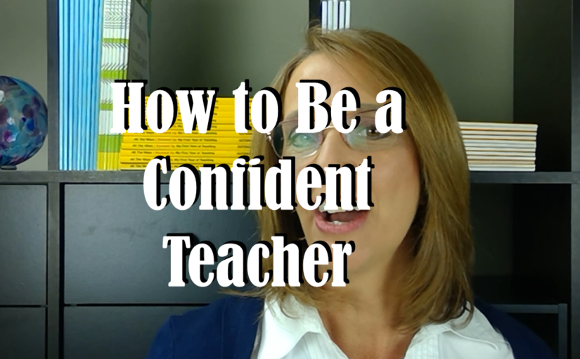 How to Be a Confident Teacher