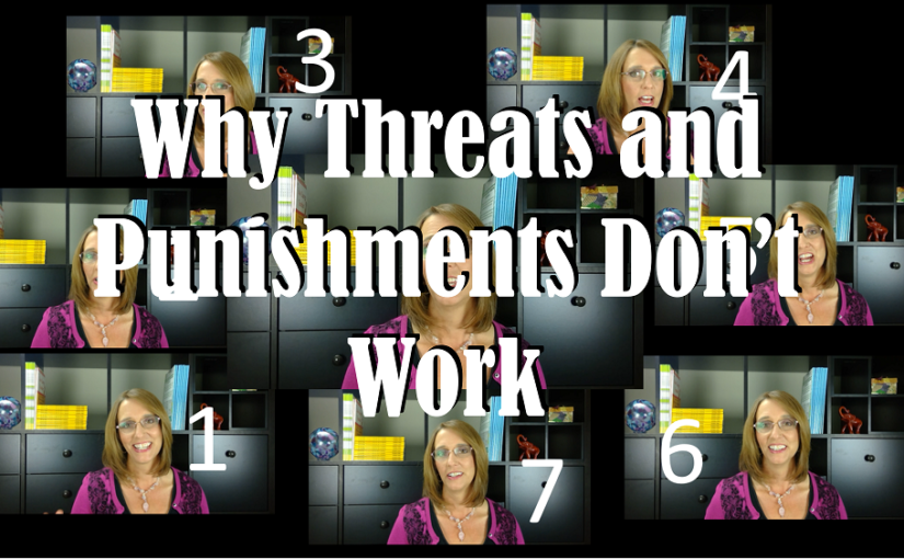 Why Threats and Punishments Don't Work